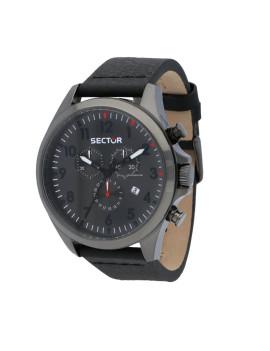 Sector orologio uomo R3271690026 180 Chronograph Black dial Black strap